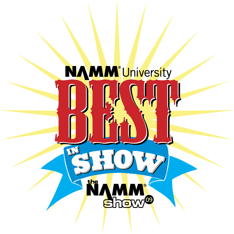 2009 NAMM Best In Show Logo